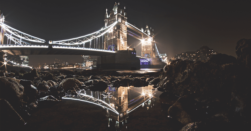 Tower Bridge Reflection   Courtesy of Jesse Stafford