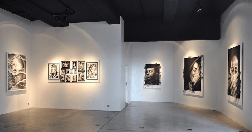 RDC haut recoin | Courtesy of Mazel Galerie