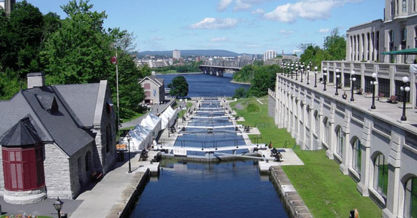 The Rideau Canal in Ottawa | © Bobak Ha'Eri/Wikicommons