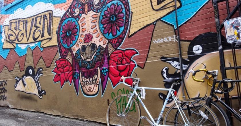 Kensington Market Graffiti | © Suwannee.payne/Wikicommons
