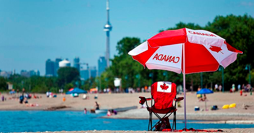 Canada Day Toronto July 1, 2012 | © George Socka/Wikicommons