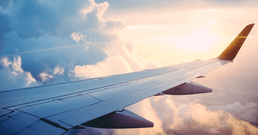 Plane Flying Over Clouds | © Public Domain/Pexels