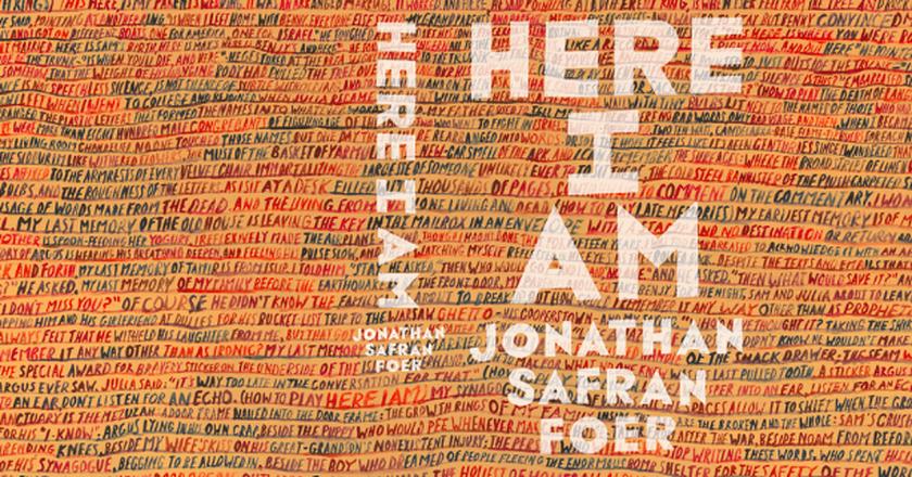 Cover of Jonathan Safran Foer's Here I Am, designed by John Gray (gray318), courtesy of FSG and Hamish Hamilton