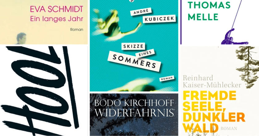 German Book Prize nominees 2016
