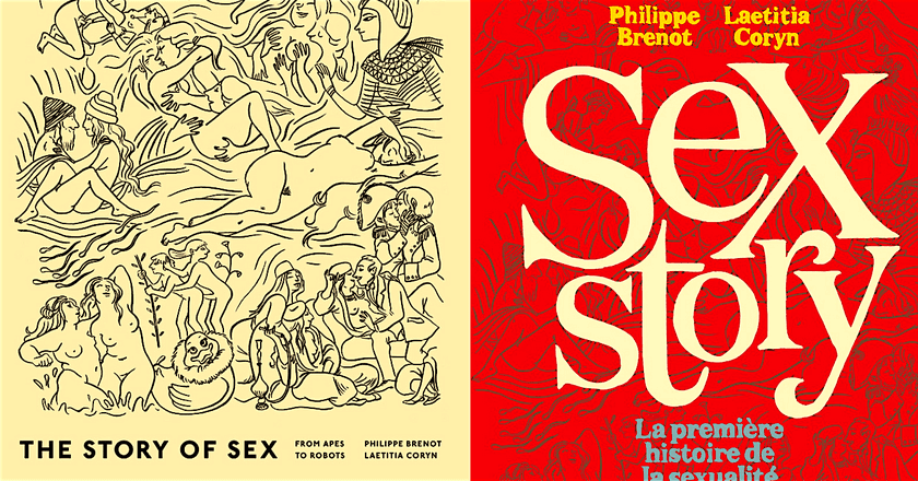 The British and French editions of The Story of Sex   Courtesy of Particular Books and Les Arènes, respectively.