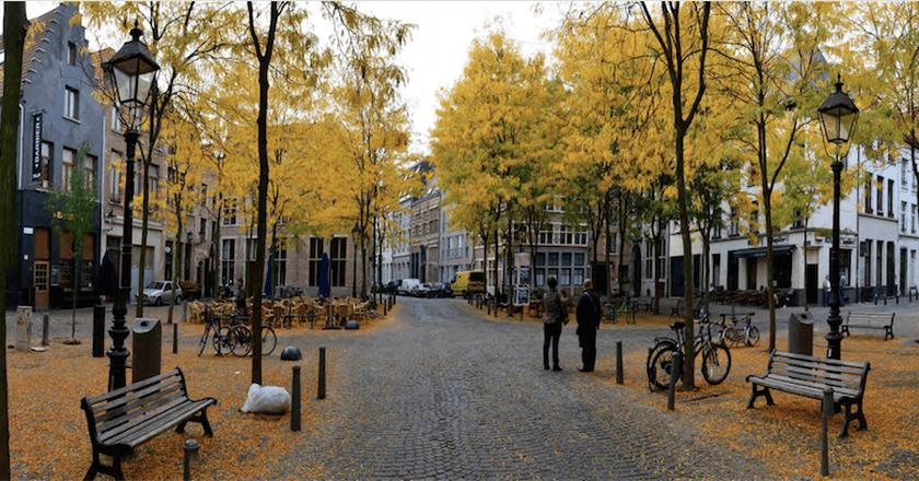 Antwerp's Stadswaag square   © Jan Crab/Courtesy of Visit Antwerp