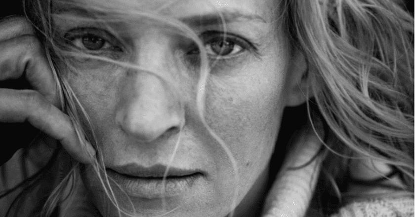 Uma Thurman © Pirelli/Peter Lindbergh