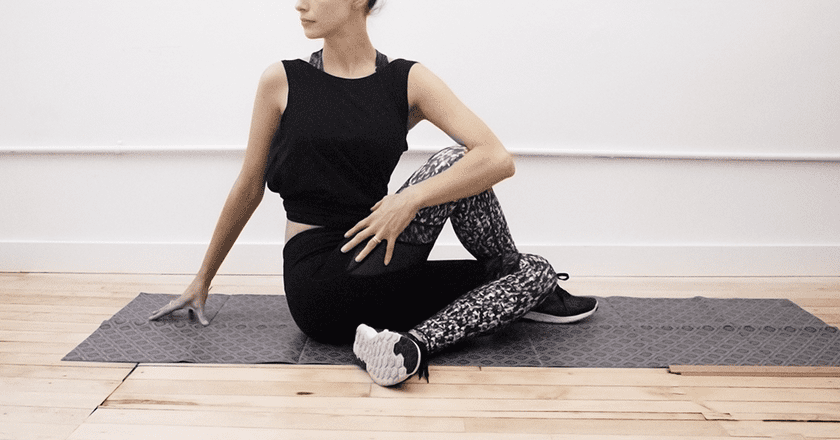 Easy Yoga Stretches For Post-Flight Stiffness