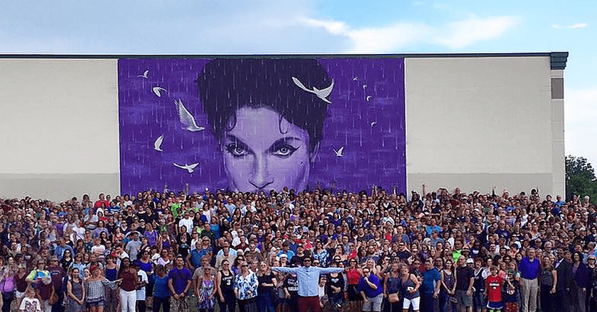 Prince Mural | Image Courtesy of Graham Hoete