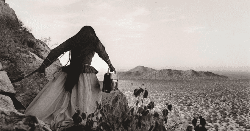 "Graciela Iturbide ""Mujer Angel"", from the cover of 'The One Inside', courtesy of Penguin Random House"