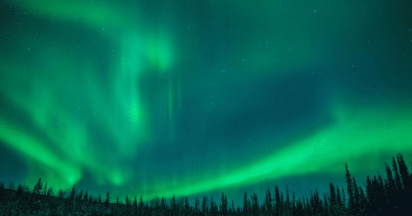 Aurora over Fairbanks, Alaska from Type Books Canada
