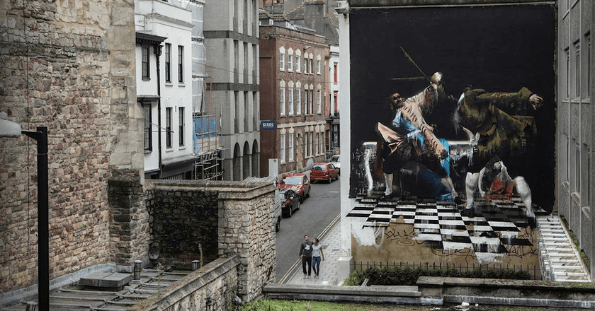 The Duel of Bristol by Conor Harrington | © Ian Cox / Courtesy of Conor Harrington