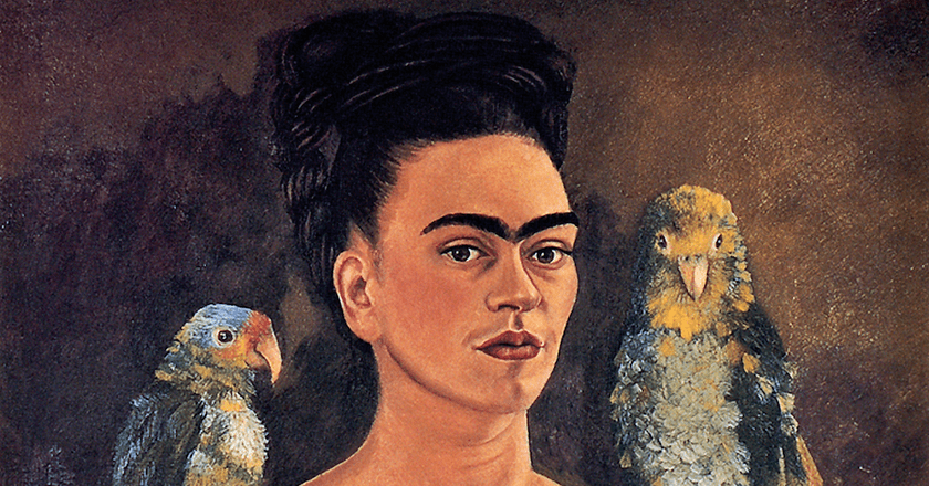 Frida Kahlo, 'Me and My Parrots/Yo y mis pericos,' 1941 | © libby rosof/Flickr