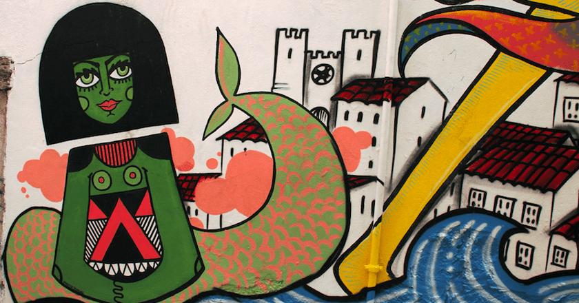 Mural Photo © Paulo Vítor Martins | Colourbox