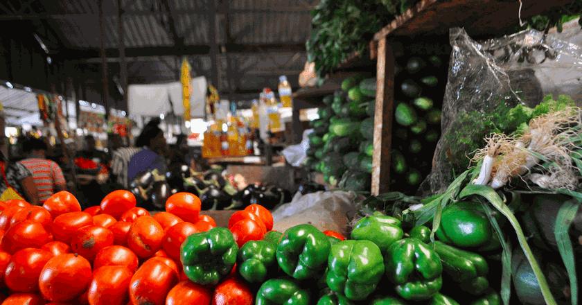 Fresh produce in Kimironko Market   Courtesy of Leah Feiger
