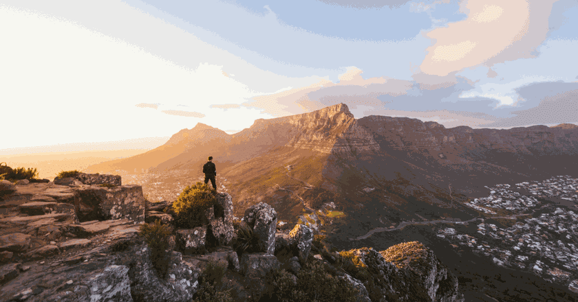 There are endless viewing points to choose from   Courtesy of South African Tourism