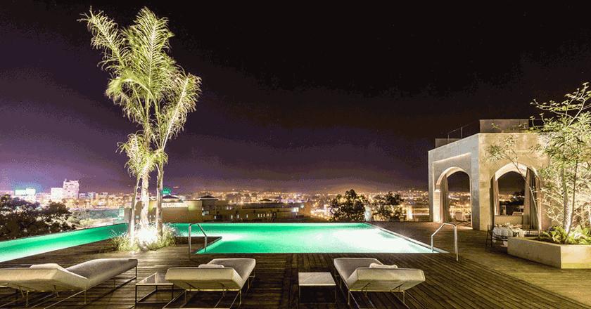 Pool area |Courtesy of Hotel Sahrai