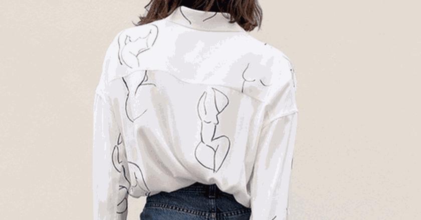 Leandra shirt | © Instagram @palomawool