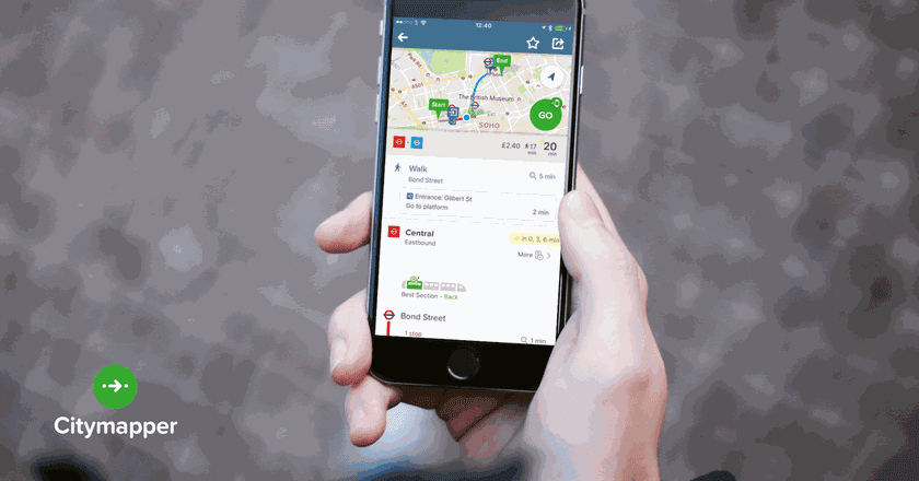 How Has London-Based Startup Citymapper Impacted City Life?