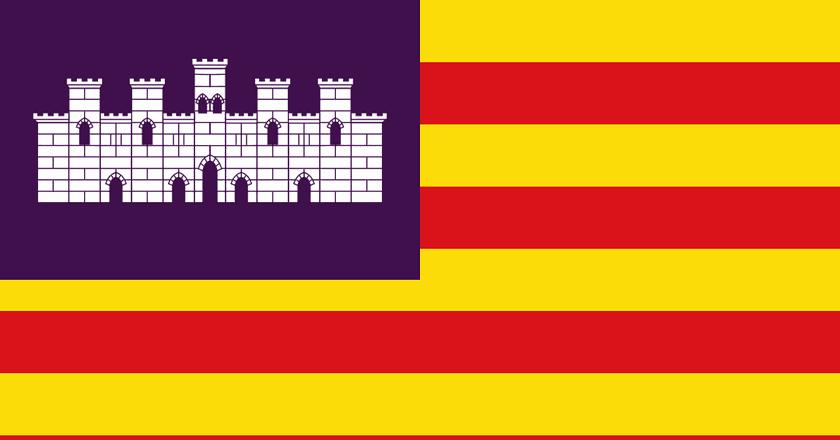 Flag of the Balearic Islands