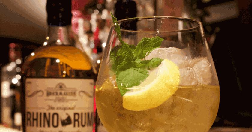 Rhino Rum | Courtesy of Brickmaker's Distilling Co.