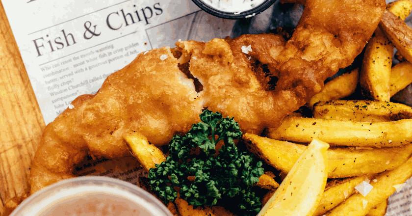 Fish and chips at its best at Kalky's | © Andreas Raun Arneberg/Unsplash
