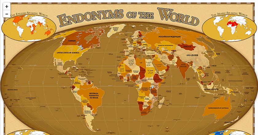© Endonym Map