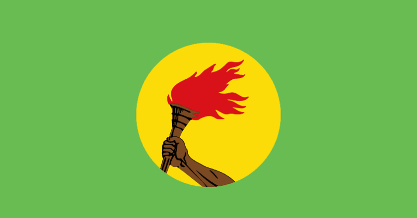 Zaire National Flag © Wikipedia