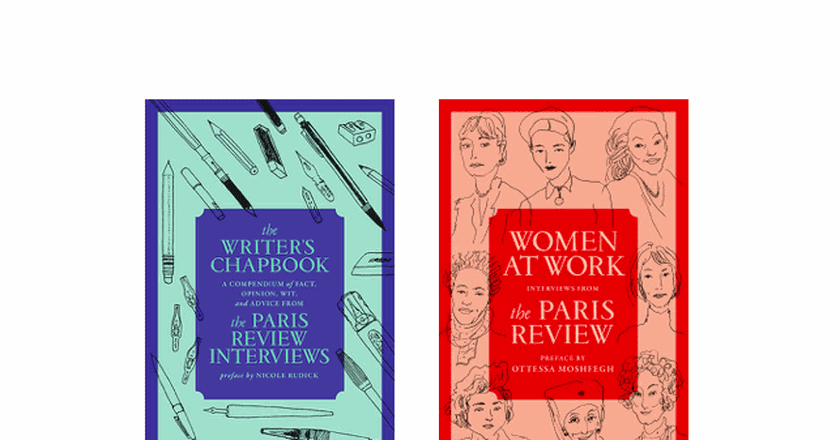 Two recent anthologies published by 'The Paris Review'