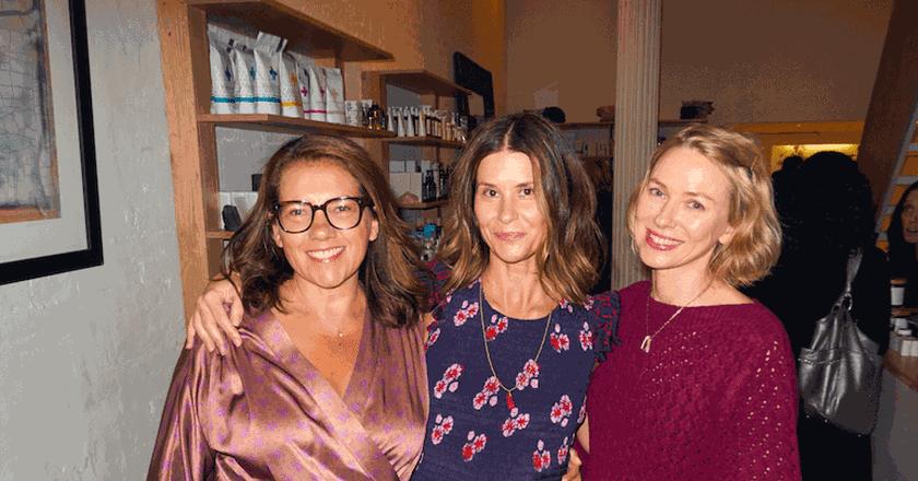 L to R, Sarah Bryden-Brown, Larissa Thomson, Naomi Watts.