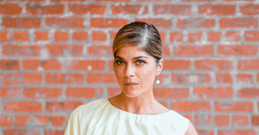 Selma Blair at the Dia:Beacon Spring Benefit