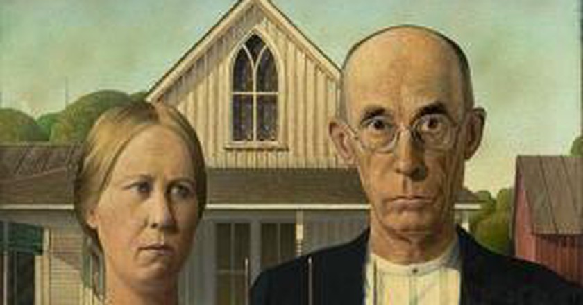 Rethinking Grant Woods Iconic Painting American Gothic