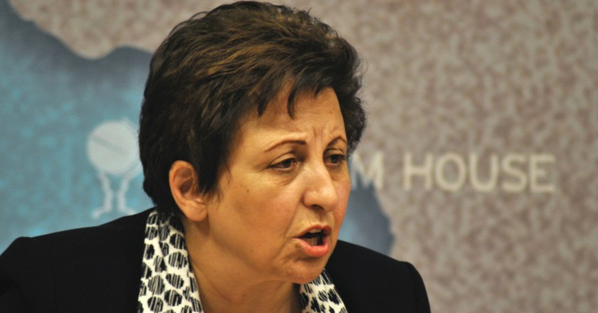 Shirin Ebadi's Campaign For Democracy
