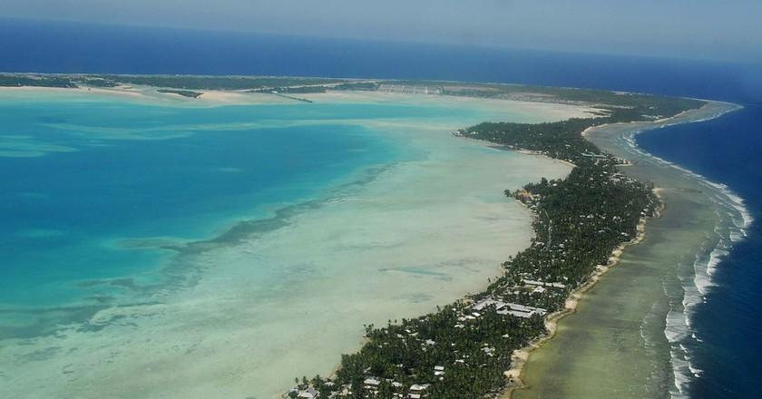 South Tarawa © Kiribati Government/WikiCommons