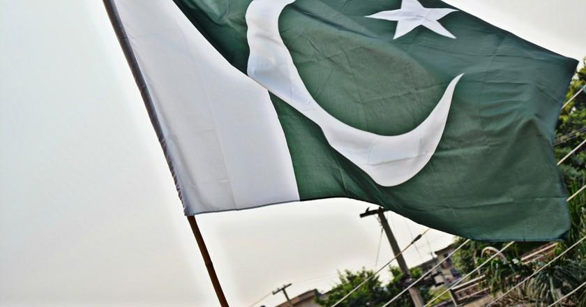 The Pakistani Flag | © SyedWasiqShah/Pixabay