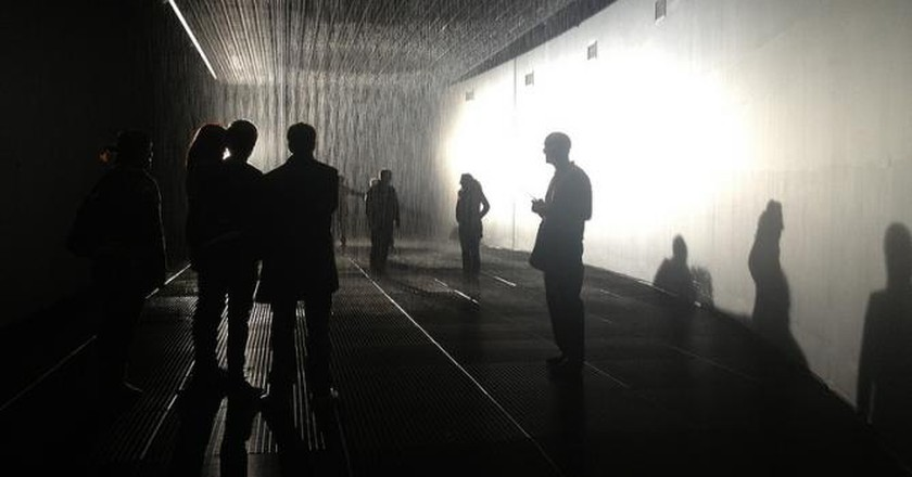 The Rain Room at the Barbican: An Autumn Deluge