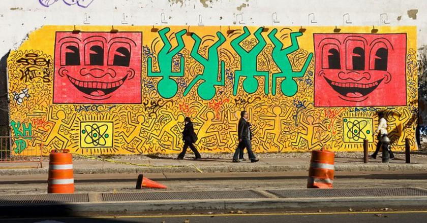 Northwest corner of Houston and Bowery, NYC ©Dan DeLuca