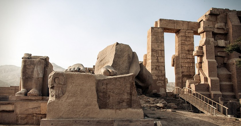 ancient Egyptian ruins   © Christopher Michel / Flickr