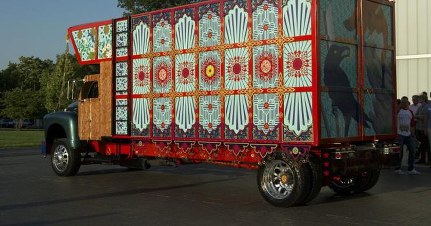 The Truck at the Nelson-Atkins Museum of Art, Kansas City | Photograph by Mark McDonald.