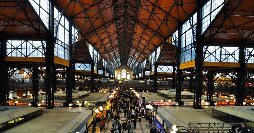 Budapest Grand Market Hall © dd-ang2s/WikiCommons