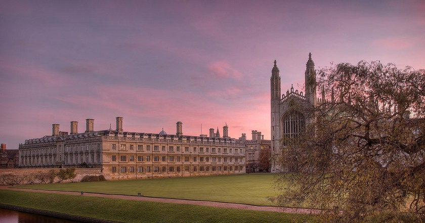 Kings's College chapel at sunset © Alex Brown