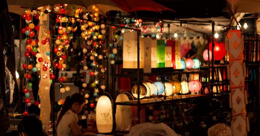 Night market in Chiang Mai © Christian Haugen