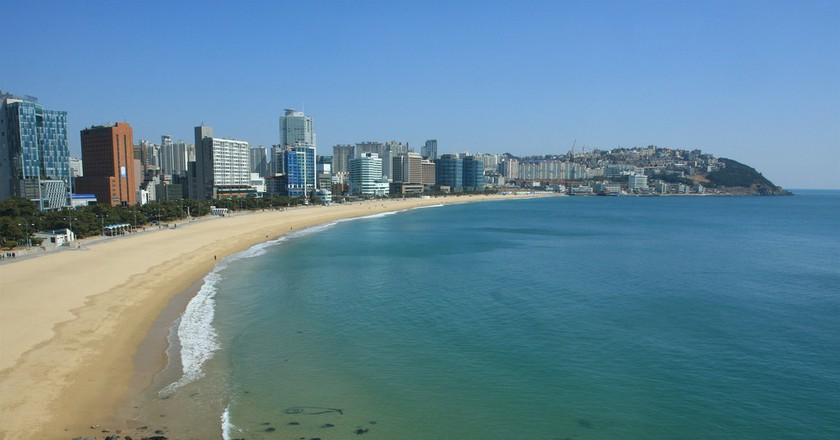 Haeundae Beach - Busan, South Korea | ©TravelingOtter/Flickr