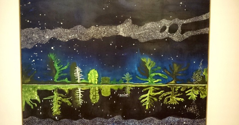 Milky Way by Peter Doig | © Karen Bryan/Flickr