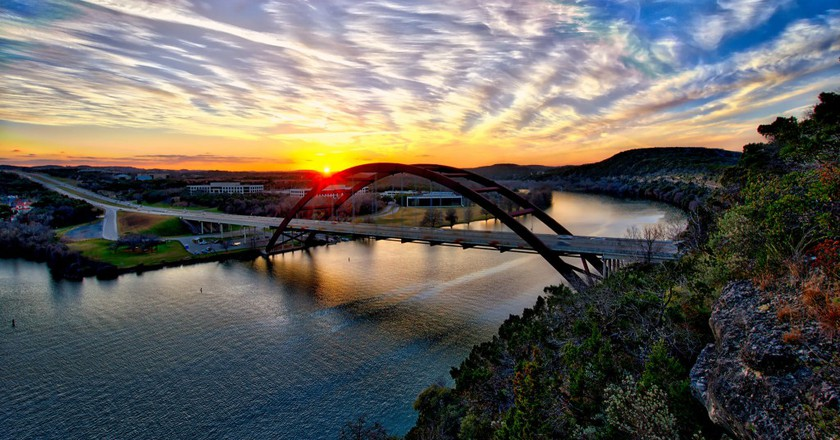 Bridge Sunset, Austin ©sbmeaper1