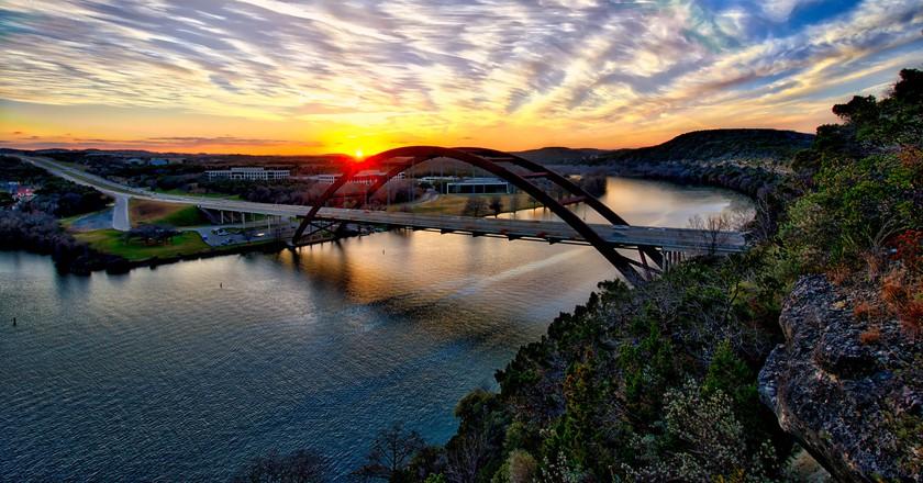 Bridge Sunset, Austin ©sbmeaper1