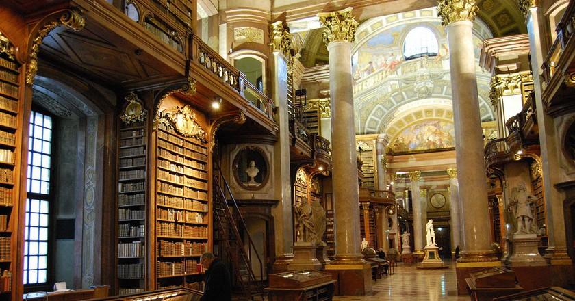 Austrian National Library   © Ferran Porta/Flickr
