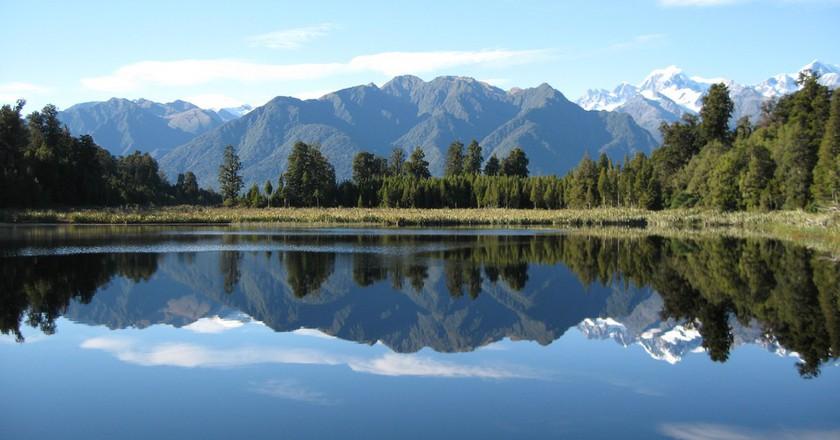 Mirror Lake, NZ | © p-a-t-r-i-c-k/Flickr