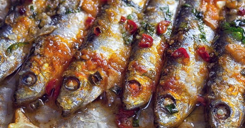 Grilled Sardines   © circlePS/Shutterstock