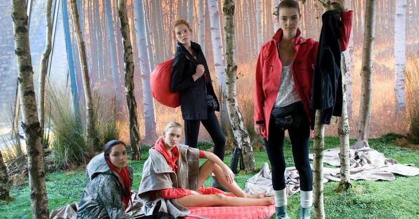 Adidas by Stella McCartney s/s 2011 fashion show ©adifansnet